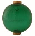 Round Transparent Light Green
