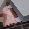 Copper Cap Flashing - WMU Signs