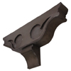 custom corbel in bonderized steel