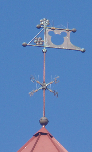 weathervane design from the grand floridian