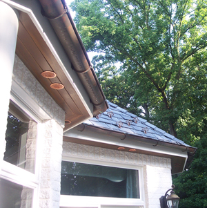 round soffit vent installed old world distributors
