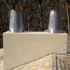 Chimney Cap Lead Coated Copper