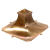 Custom Finial in Copper
