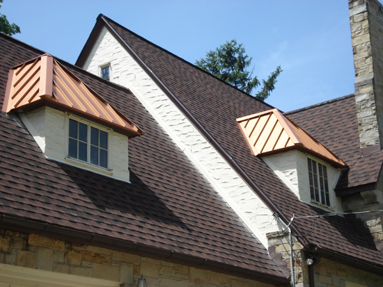 Portfolio Copper Dormers Old World Distributors Inc