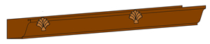 k-style shell gutter accessory old world distributors