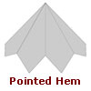 finial pointed hem Old World Distributors