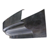 Lead Coated Radiused Gutter