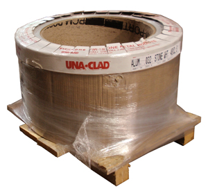 slit coil packaged for shipping