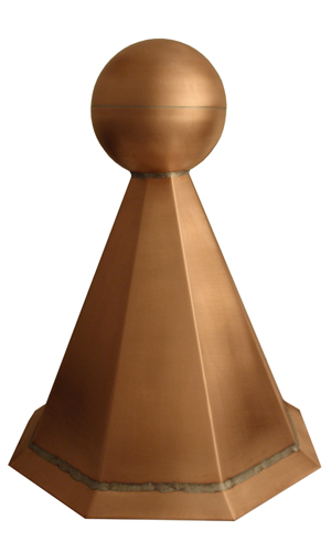 tall ball and base finial