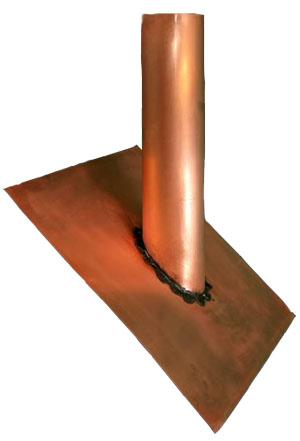 Copper Vent Cap Old World Distributors Inc